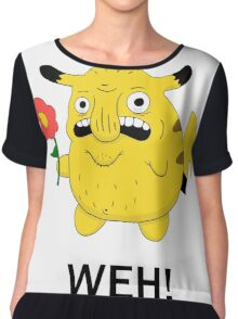 Pikachu WEH! Chiffon Top