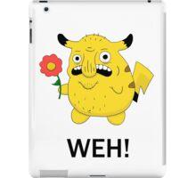 Pikachu WEH! iPad Case/Skin