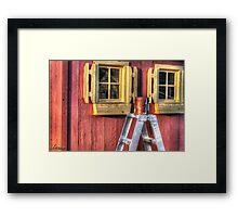 Paint Day Framed Print