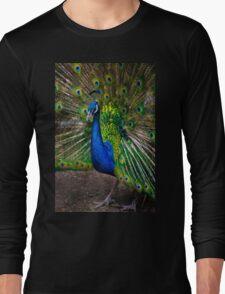 Pumapungo Peacock Long Sleeve T-Shirt