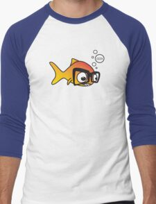 Geek Fish Men's Baseball ¾ T-Shirt