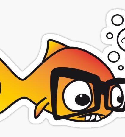 Geek Fish Sticker