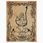 Mermaid Tarot Sticker: The Fool by SophieJewel