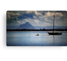 Paddle fast Canvas Print
