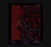 USGS TOPO Map Alaska AK Point Lay C-2 358450 1955 63360 Inverted Unisex T-Shirt