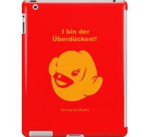 Der Uberducken! (Red) iPad Case/Skin