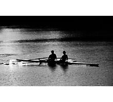 """""""The Scullers"""" Photographic Print"""