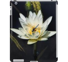 Dragon Fly on Lily iPad Case/Skin