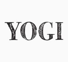 Serif Stamp Type - Yogi Kids Tee