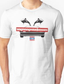 DeLorean Doors Ugnnnngnadaoooors Unisex T-Shirt