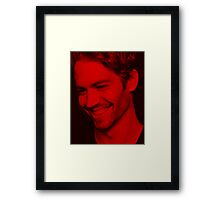 Paul Walker - Celebrity Framed Print