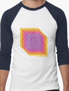 Ice Cubism Men's Baseball ¾ T-Shirt