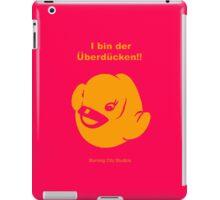 Der Uberducken! (Pink, No T-Shirts) iPad Case/Skin