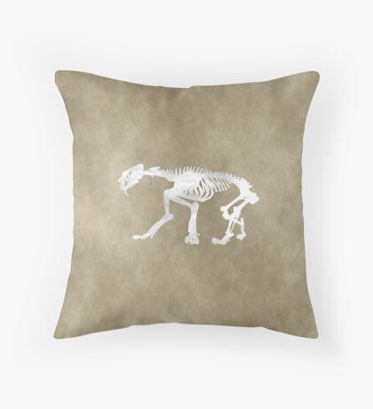 Smilodon Throw Pillow