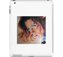 Black Widow Portrait iPad Case/Skin