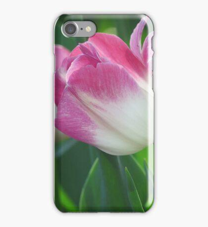 Blushing Tulip iPhone Case/Skin