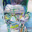 SAMUEL BECKETT - oil portrait.1 by lautir