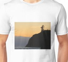 Ruby Beach with Yellow Sky Unisex T-Shirt