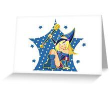Dark magician girl Greeting Card