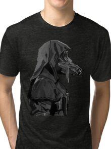 Retro Whaler Tri-blend T-Shirt