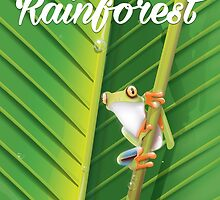 Amazon Rainforest poster by Nick  Greenaway