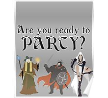 Are You Ready To Party? - Trine Poster