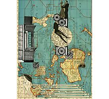 maps Photographic Print