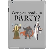 Are You Ready To Party? - Trine iPad Case/Skin