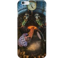 The Paddle Steamer Fireman iPhone Case/Skin