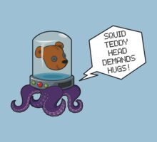 Squid Teddy Head by dreaminpng