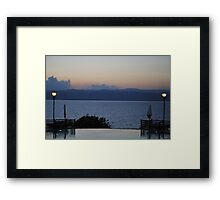 Dead Sea 2, Jordan Framed Print