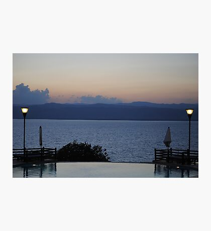 Dead Sea 2, Jordan Photographic Print