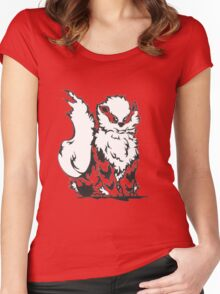 Arcanine Women's Fitted Scoop T-Shirt