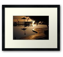 Dead Sea 3, Jordan Framed Print