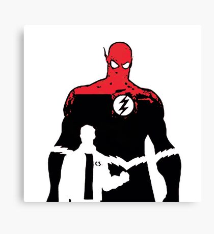 Flash2 x files Canvas Print