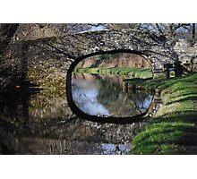 Llangollen Canal Bridge 1, Wales Photographic Print
