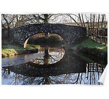 Llangollen Canal Bridge 2, Wales Poster