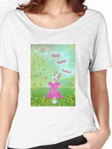 Madame Minx and Basil; Will you play with us? Women's Relaxed Fit T-Shirt