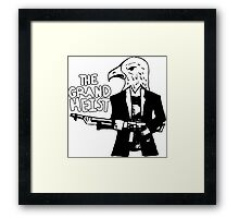 The Theme is America (Achievement Hunter Lets Plays)  Framed Print