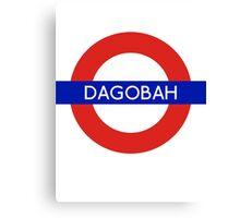 Fandom Tube- DAGOBAH Canvas Print