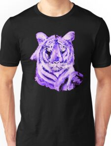 PURPLE TIGER LIGHT COLLECTION Unisex T-Shirt