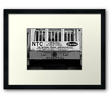 Look, Look, All Kinds of Rubber! Framed Print