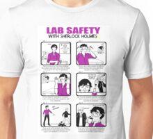 Lab Safety with Sherlock Holmes  Unisex T-Shirt