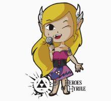 Heroes of Hyrule: Zelda Kids Tee
