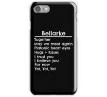 Bellarke Shipper iPhone Case/Skin