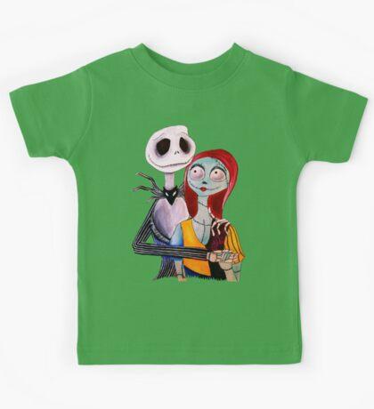 Jack and Sally Kids Tee