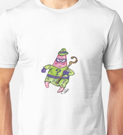Patrick Star The Riddler Unisex T-Shirt