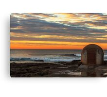 Newcastle Ocean Baths Pumphouse Canvas Print