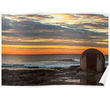 Newcastle Ocean Baths Pumphouse Poster
