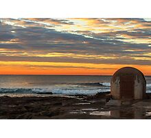 Newcastle Ocean Baths Pumphouse Photographic Print